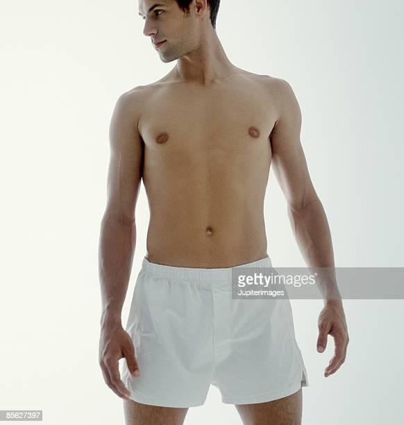 Man in Boxer Shorts