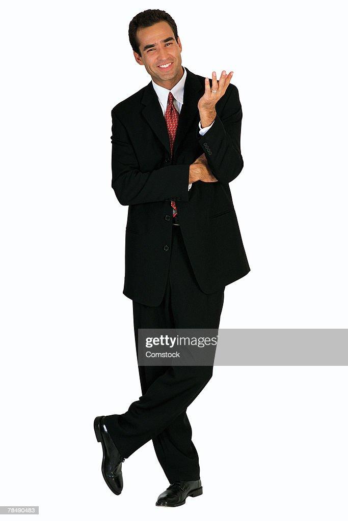 Man in business attire : Stock Photo