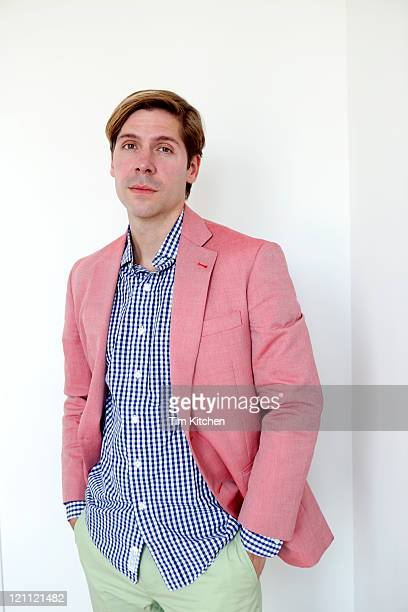 Man in colorful suit, portrait