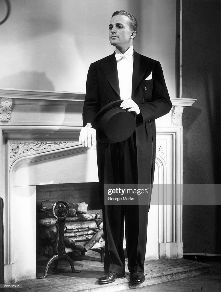 Man in evening wear : Stock Photo