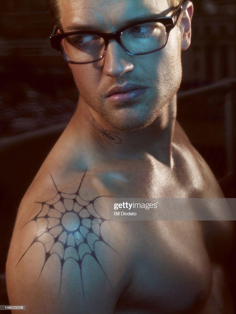 man in glasses : Stock Photo