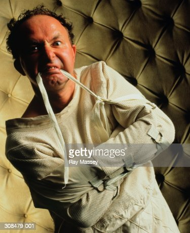 Straight Jacket Stock Photos and Pictures   Getty Images