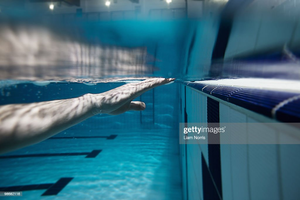 Man in Pool