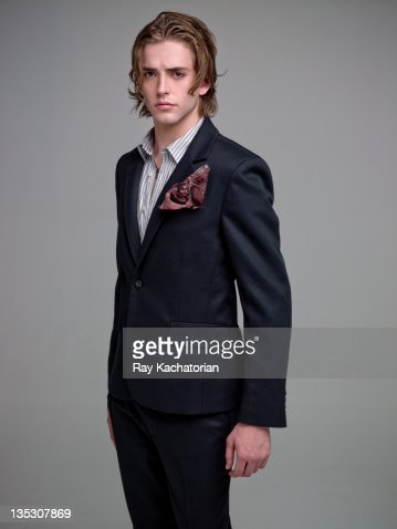 man in stylish suit : Stock Photo