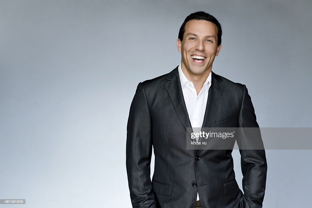Man in suit : Stock Photo