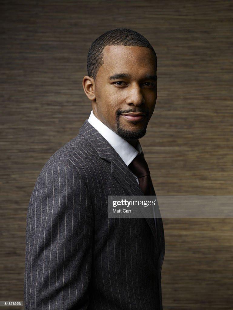 Man in suit : Stock Photo