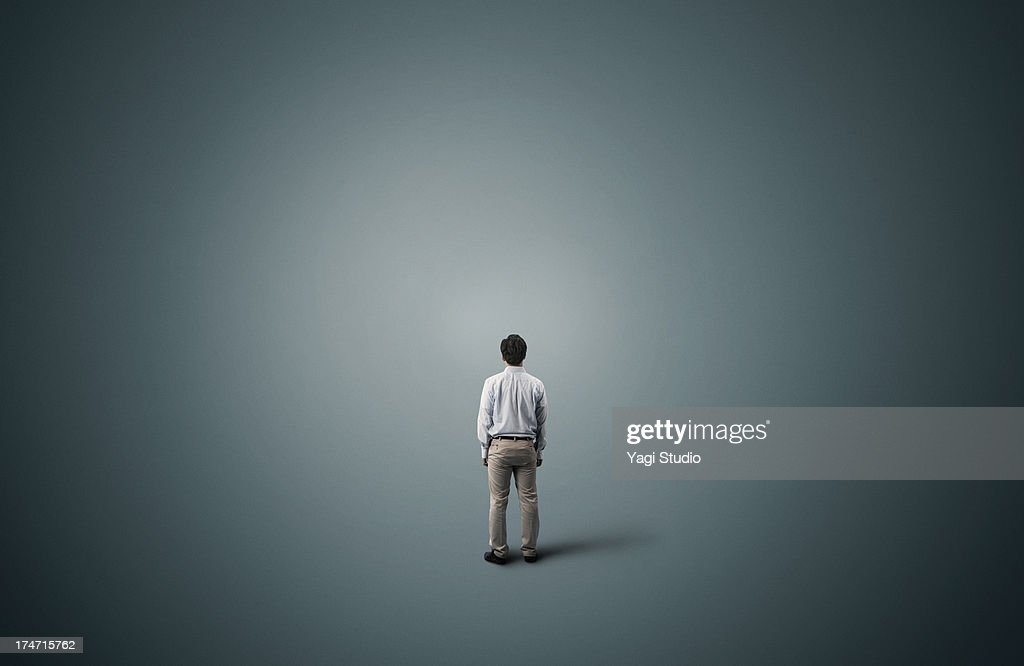 Man is standing