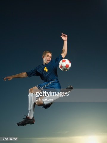 how to pass a soccer ball in the air