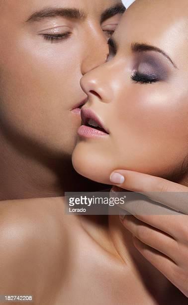 Mann Küssen Frau
