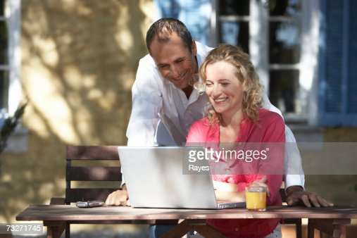 Friendly Man Leaning Forward Stock Photography - Image ... |For Man Woman Leaning Forward
