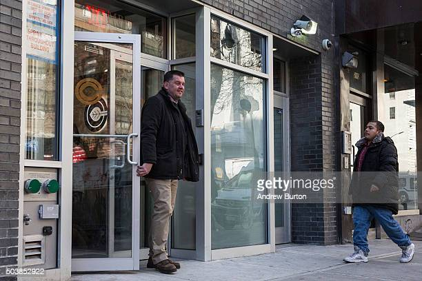 A man leaves Columbia Care the first medical marijuana dispensary in New York City on January 7 2016 in New York City The law allowing medical...