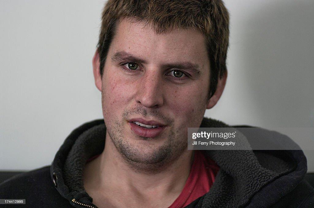 Man looking at the camera. : Stock Photo