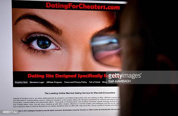 A man looks at a dating site on his computer in WashingtonDC on February 10 2014 One 29yearold woman says it helped her take revenge on her...