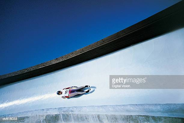 Man Luge Racing