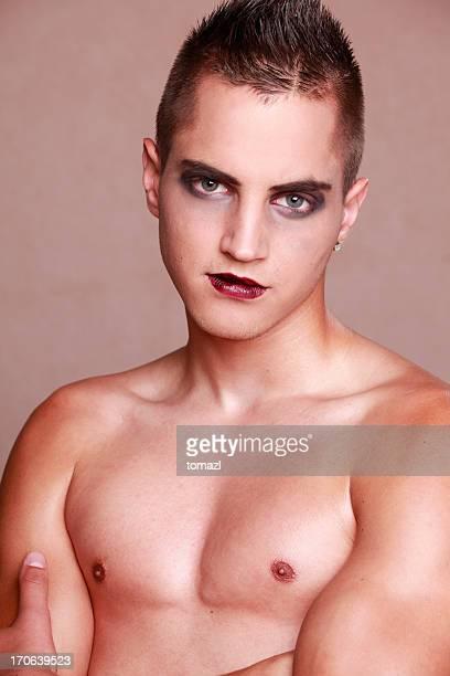 Homme de maquillage