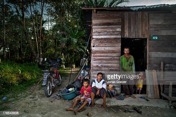 A man named Fasil aged 46 shares a rented shack with his family in Dosan he is one of the many hired servants that migrated from a different state to...