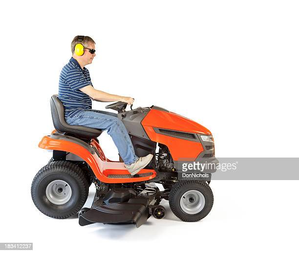Man on a Mower