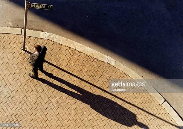 Man on Main Street