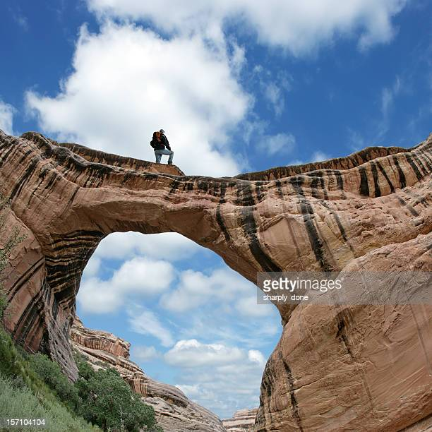 XL man on natural arch