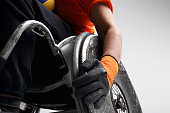 Sport in a wheelchair