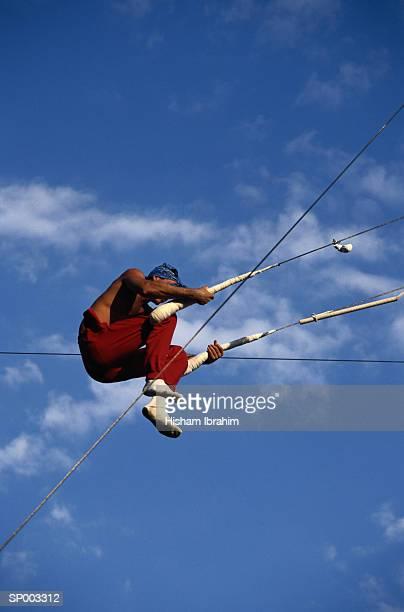Man on Trapeze