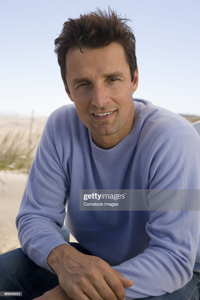 Man outdoors : Stock Photo
