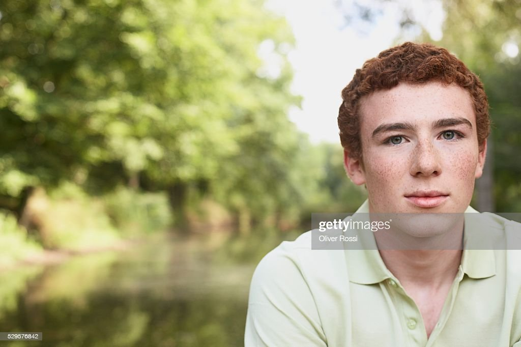 Man Outside : Stock Photo