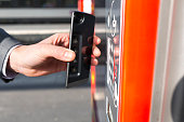 NFC smartphone contactless transaction