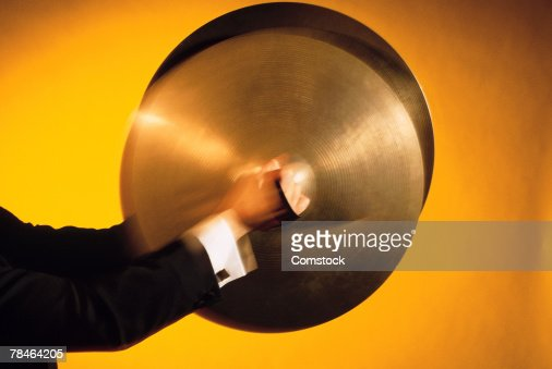 Man playing cymbals