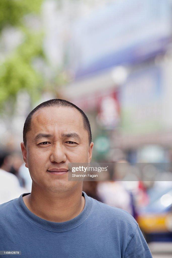 Man Portrait in Wangfujing