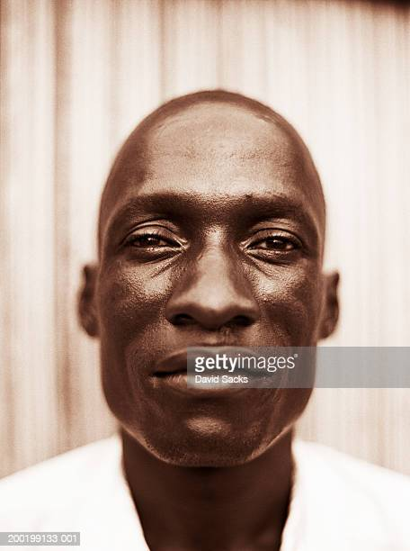 Man portrait, (sepia tone)