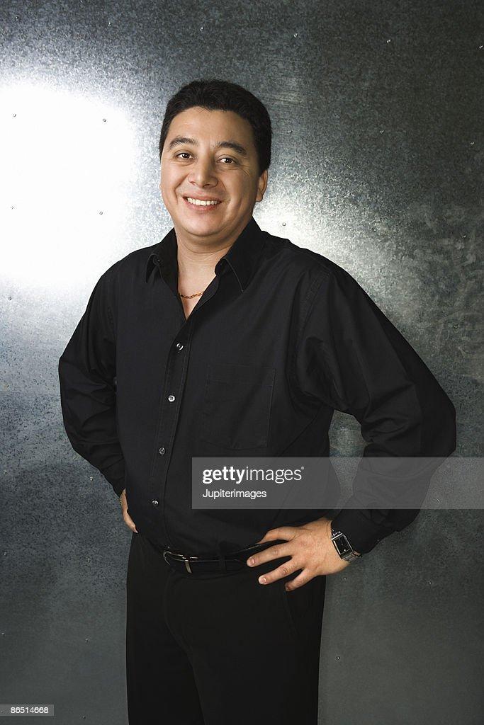 Man posing : Stock Photo