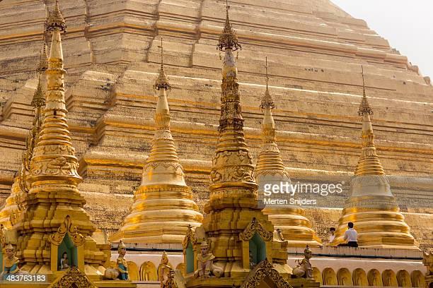 Man praying at Shwedagon Pagoda