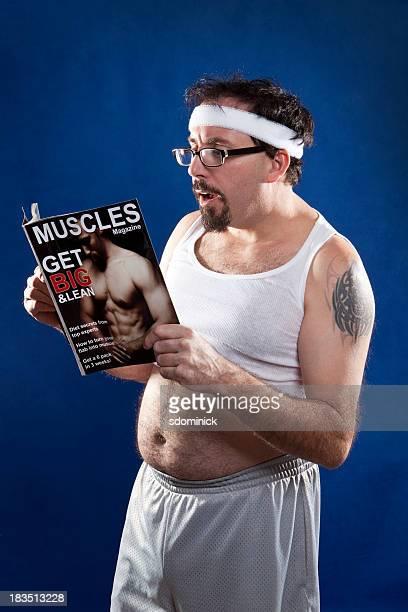 Magazine de lecture homme Muscle