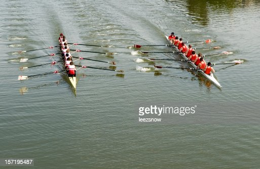 8 Man Rowing Race - Competition