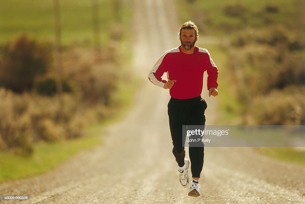 Man Running : Stock Photo