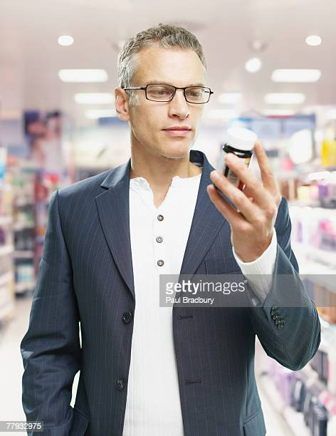 Man shopping in store