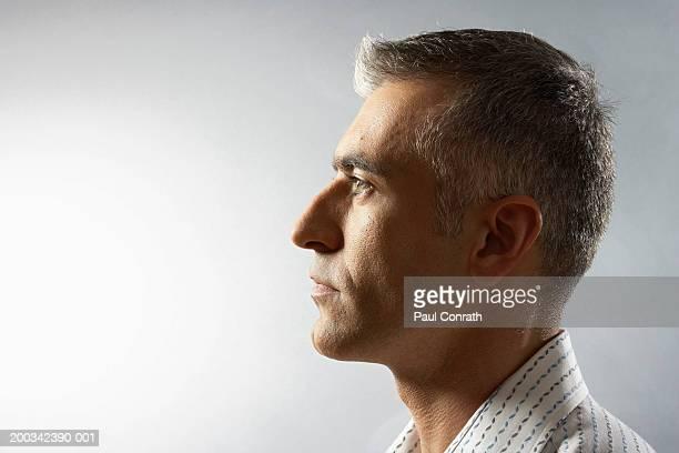 Man, side view