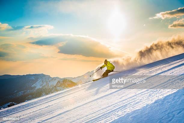 Ski de descente homme