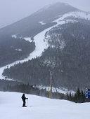 Man Skiing on Whiteface Mountain