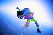 Man Skysurfing