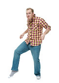 Man sneaking around and tip toeinghttp://www.twodozendesign.info/i/1.png