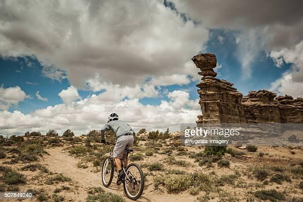 Mann solitude-Landschaft