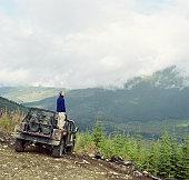 Cougar mountain, Whistler, British Columbia, Canada, September 2003