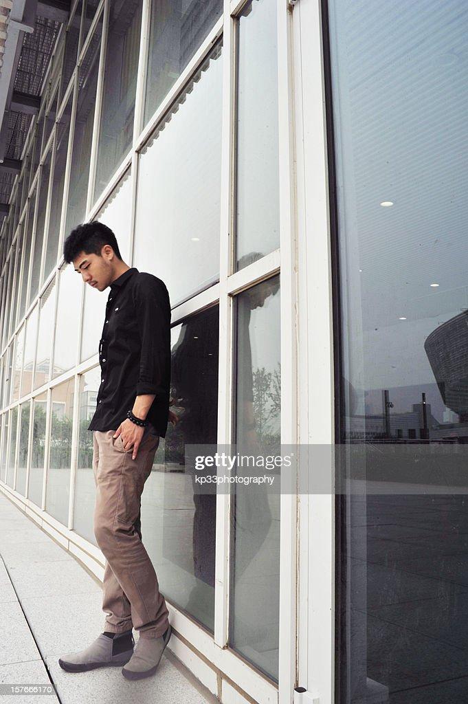 man standing : Stock Photo