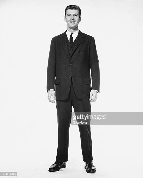 Man standing, smiling