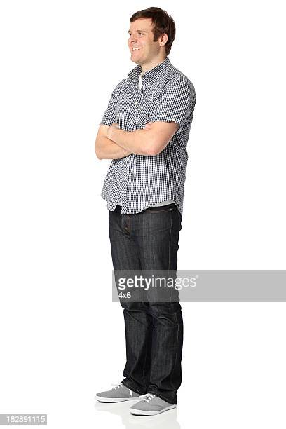 Man standing with arms crossed