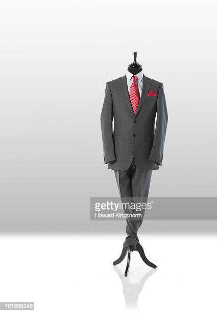 man suit and tie on tailor's dummy