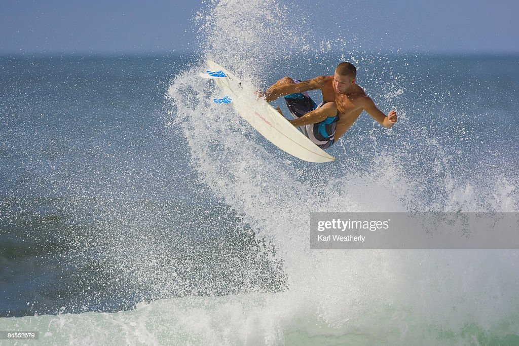 Man surfing : Stock Photo