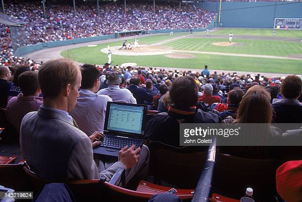 Man tracks players' statistics w/ computer
